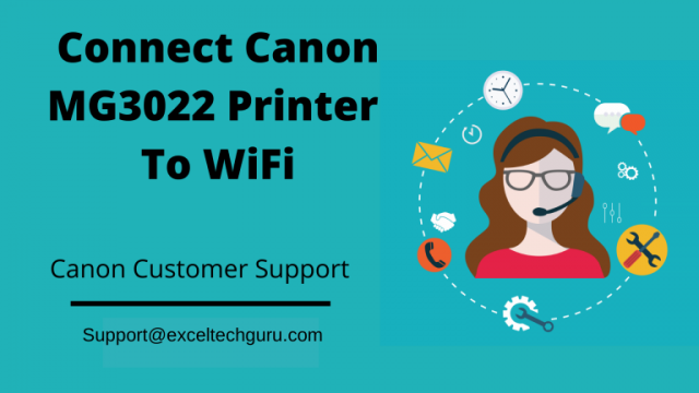 Connect Canon MG3022 to WiFi