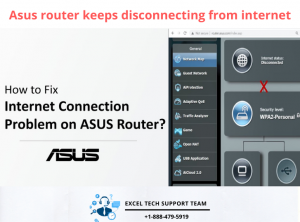 Asus router keeps disconnecting from internet-Exceltechguru