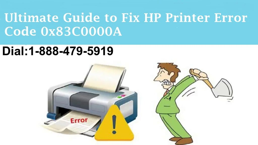 HP Printer Error Code 0x83c0000a