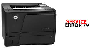 HP Printer 79 service error