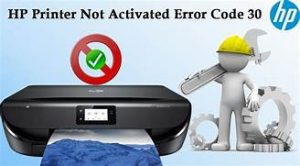 HP Printer Error 30