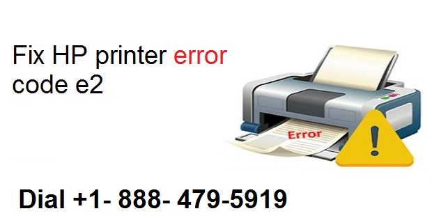 Fix HP printer error code e2