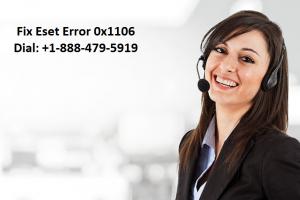 eset error 0x1106