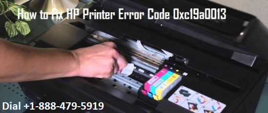 HP Printer Error Code 0xc19a0013
