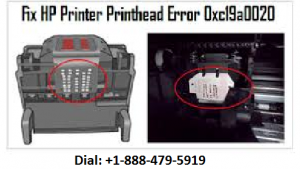 HP printer error 0xc19a0020
