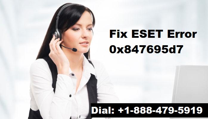 ESET Error 0x847695d7