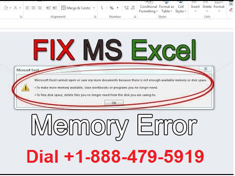 How to Fix Excel out of memory Error issue?