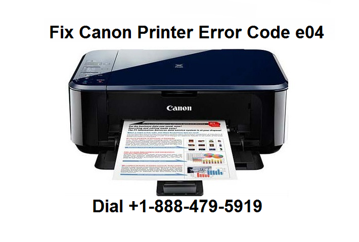 canon printer error e04