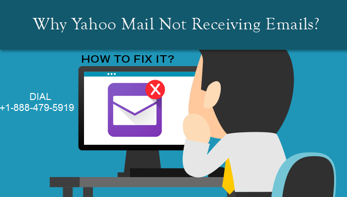 yahoo not receiving email