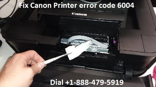 Canon Printer error code 6004