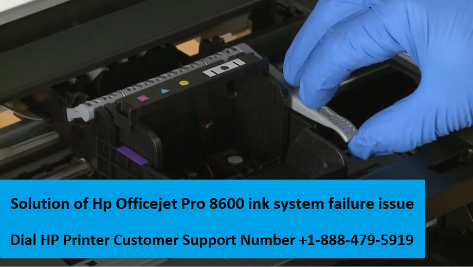Hp Officejet Pro 8600 ink system failure