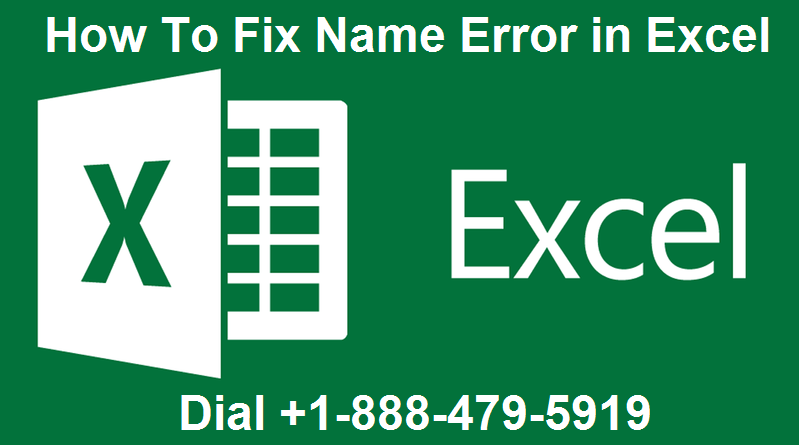 Name Error in Excel