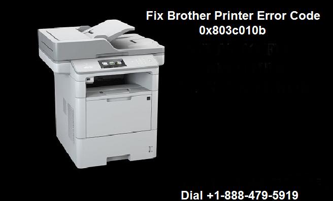 Brother Printer Error Code 0x803c010b