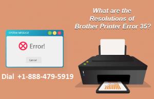 Brother Printer Error 35