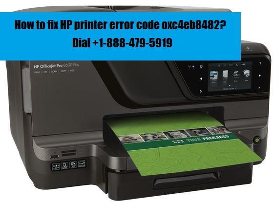 HP printer error code oxc4eb8482