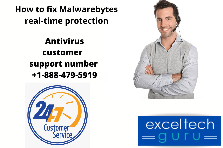 Fix Malwarebytes real-time protection