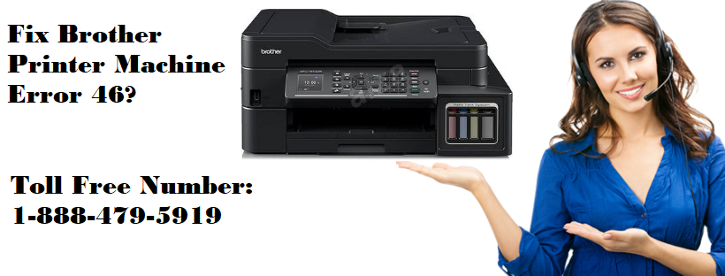 Brother Printer Machine Error 46