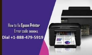 Epson printer error 000041
