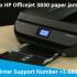 HP Officejet 3830 paper jam
