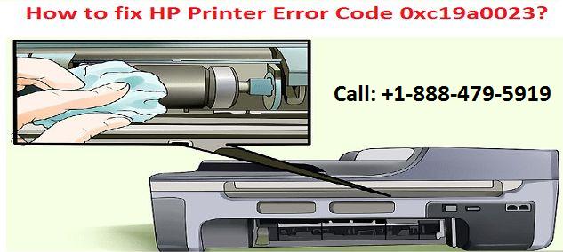 HP Printer Error Code 0xc19a0023