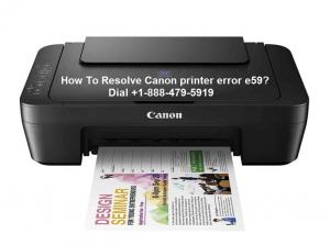 Canon printer error e59