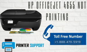 HP Officejet 4655 not printing