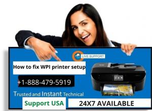 WPI printer setup
