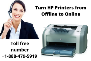 Turn HP Printers from Offline to Online