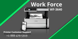 Workforce WF 3640 not printing
