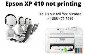 Epson XP 410 not printing
