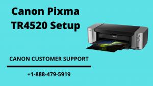 Canon Pixma TR4520 Setup