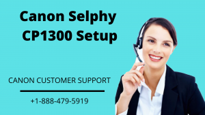 Canon Selphy CP1300 setup