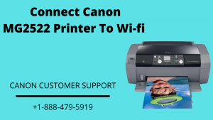 Connect Canon Mg2522 Printer to Wi-fi