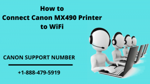 How to Connect Canon MX490 Printer to WiFi