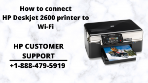 How to connect HP Deskjet 2600 printer to Wi-Fi