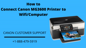 How To Connect Canon MG3600 Printer To Wifi/Computer