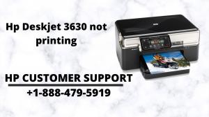 Hp Deskjet 3630 not printing