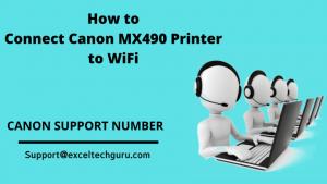 Connect Canon MX490 Printer to WiFi