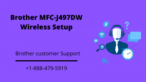 Brother MFC-J497DW wireless setup