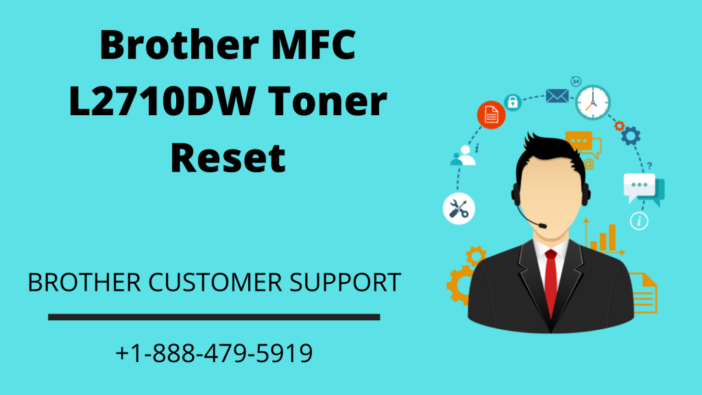 Brother MFC L2710DW toner reset