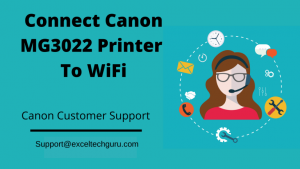Connect Canon MG3022 Printer to WiFi