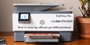 How to clean hp officejet pro 8600 printhead