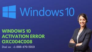 WINDOWS 10 ACTIVATION ERROR OXC004C008