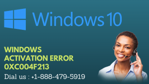 WINDOWS ACTIVATION ERROR 0XC004F213