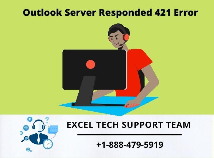 Outlook Server Responded 421 Error