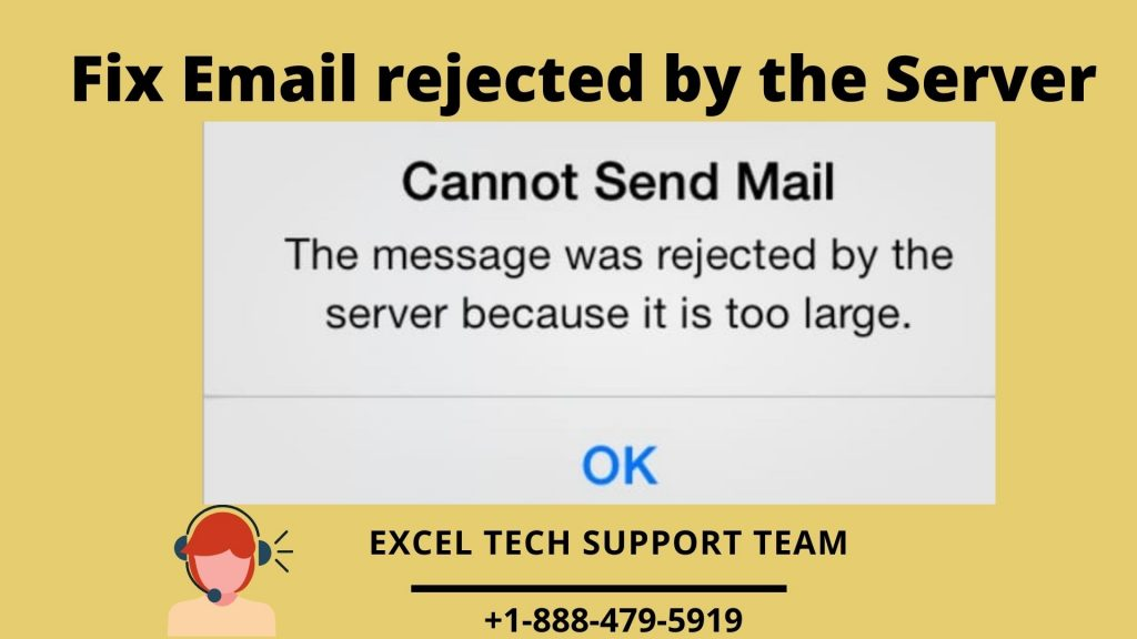 Email rejected by the Server
