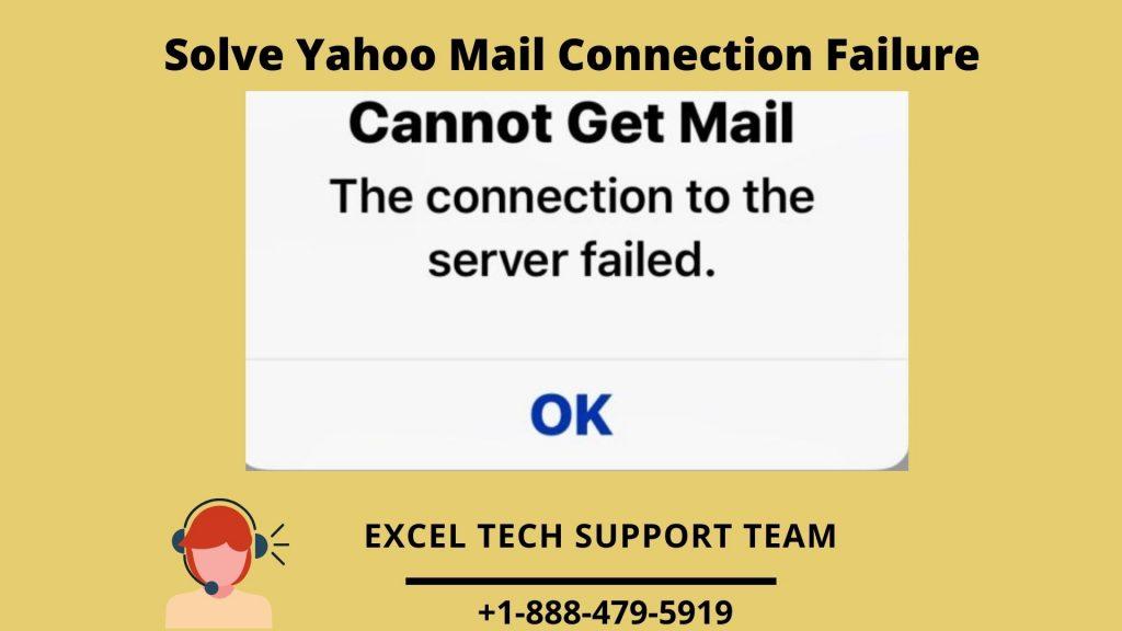 Yahoo Mail Connection Failure