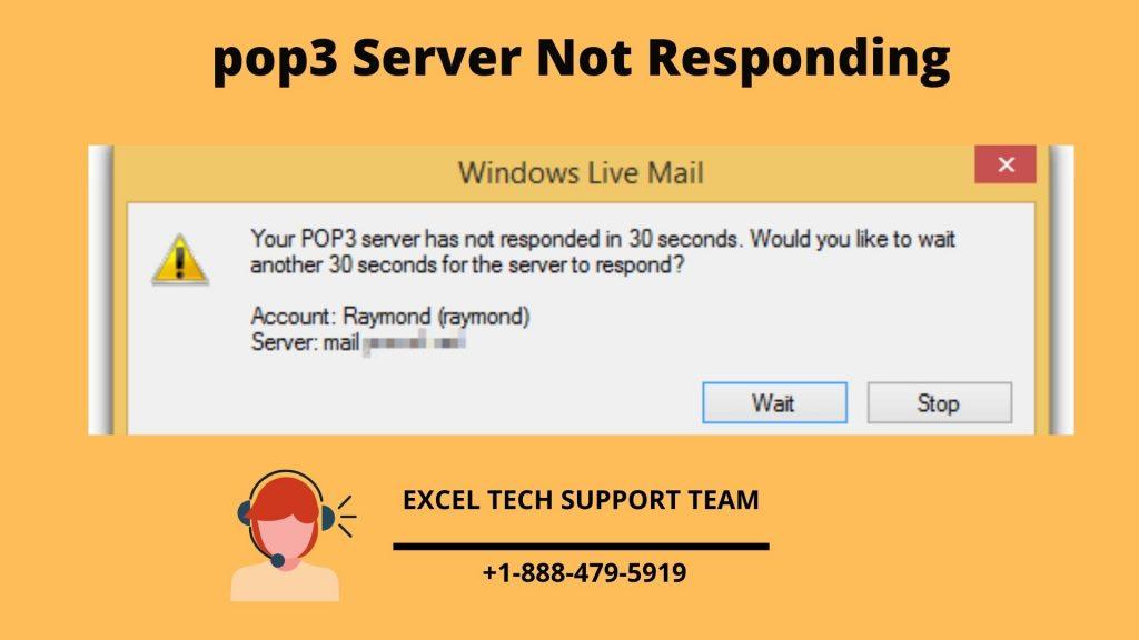 POP3 Server Not Responding