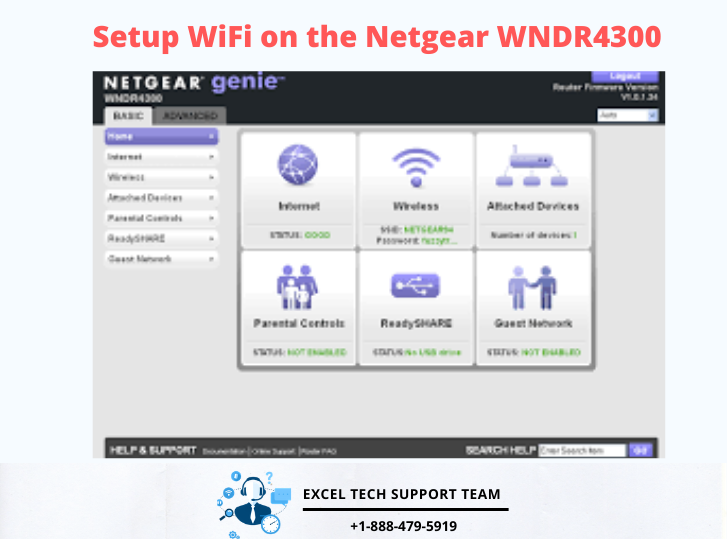 Netgear wndr4300 setup-Exceltechguru