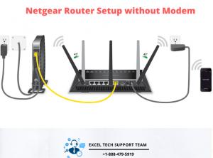 Netgear Router Setup without Modem-Exceltechguru